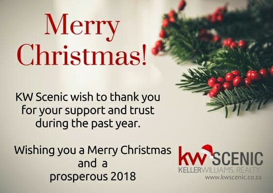 Image of Christmas greetings 2017 - KW Scenic