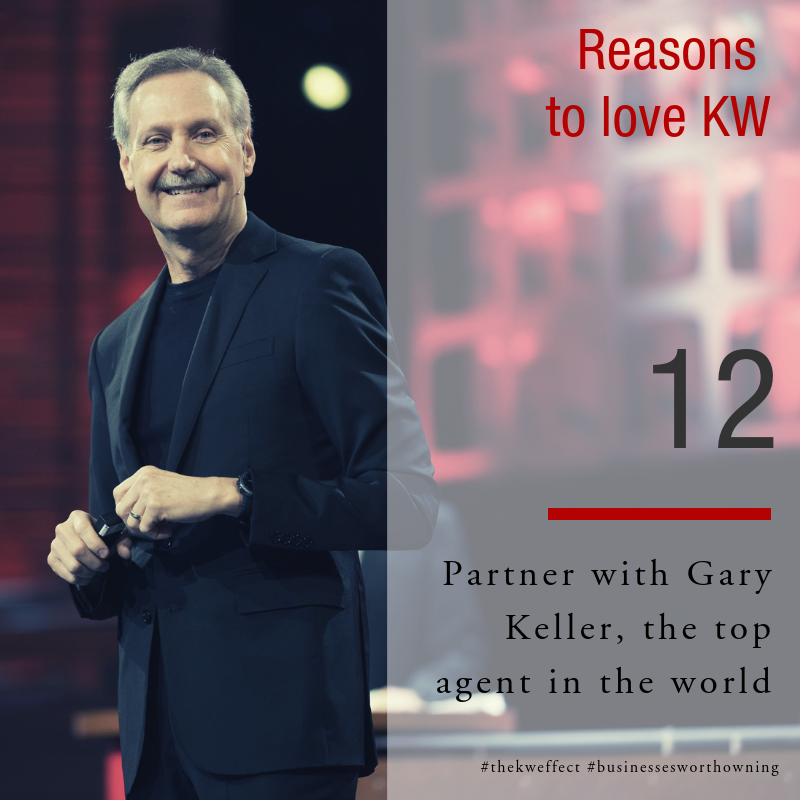 Image of Reasons to love Keller Williams 12 - Partner with Gary